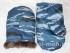 Рукавицы с двойным утеплением (ткань Оксфорд-240, ТУ, цвет — Камыш Синий)