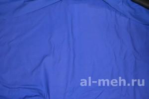Рукавицы меховые с утеплением (ткань Грета, ТУ, цвет - Василек)