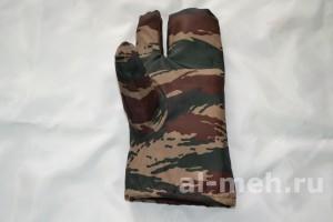 Рукавица двух-палая для охотников и силовых структур ( Ткань Оксфорд 240 - цвет Зеленый камыш)